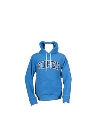 Superfly Superfly 21104 Erkek Polar Sweat Saks 101212110421 Mavi